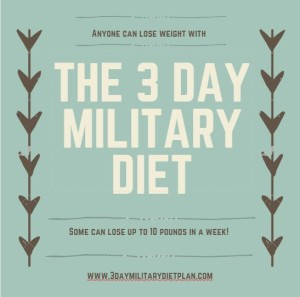 The 3 Day Military Diet