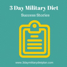 3 Day Military Diet Success Stories