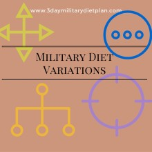 Military Diet Variations